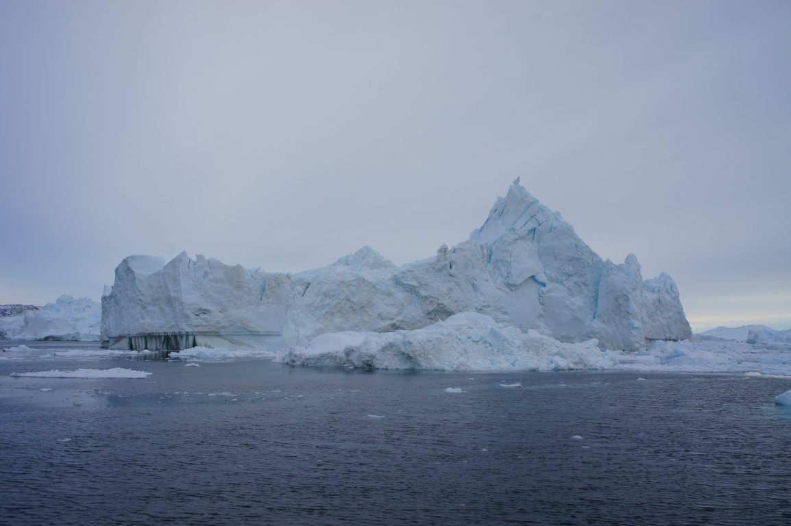 Icebergs in Disko Bay