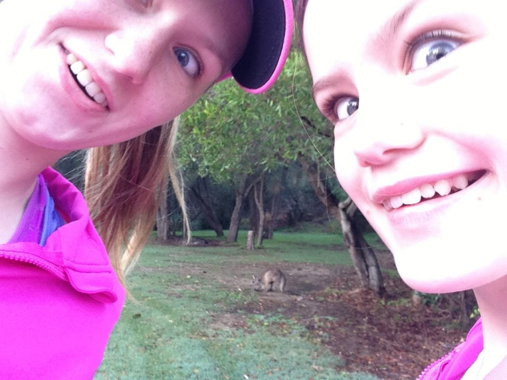 Wildlife on the 5km run!