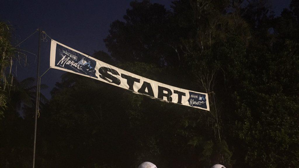A pre-dawn start