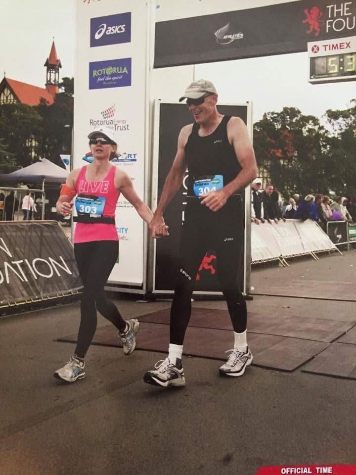 Finishing Rotorua