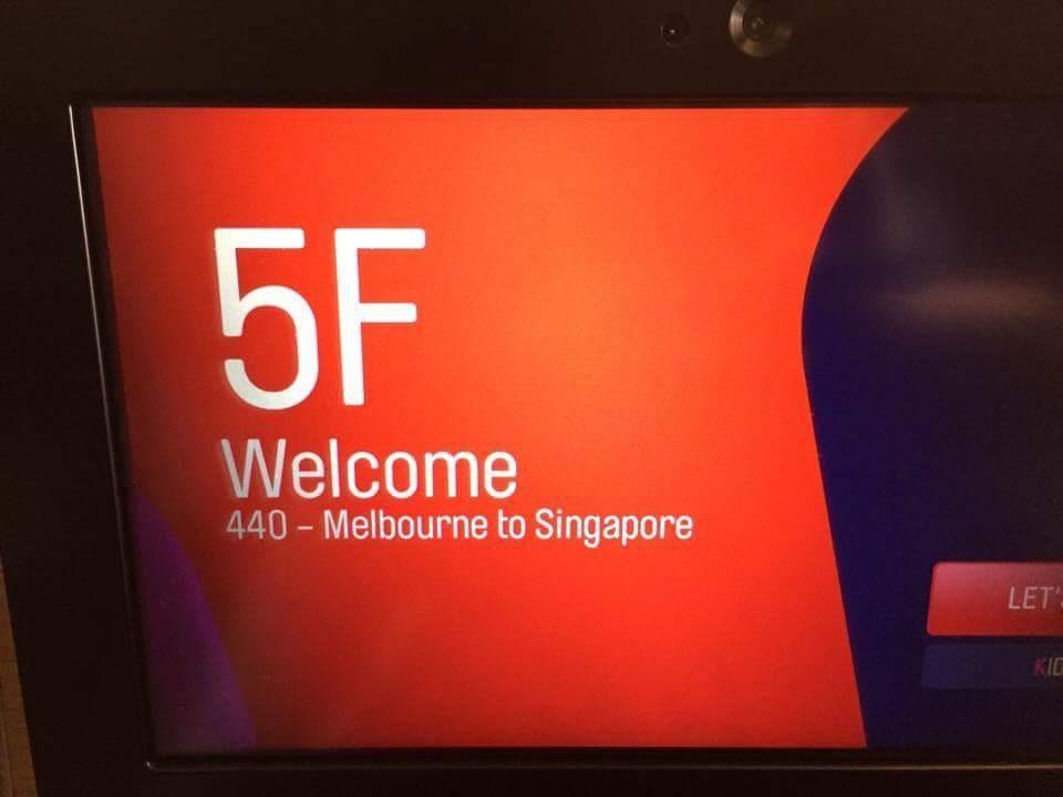 Destination Singapore!