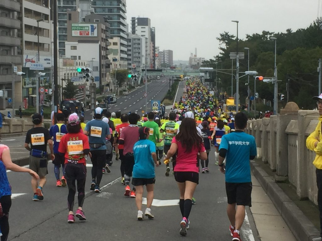 Crowd at 11km